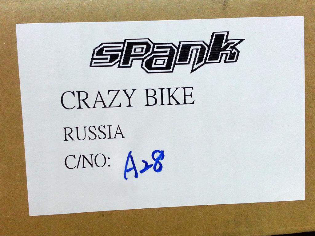Велозапчасти SPANK 2015 - В наличии!