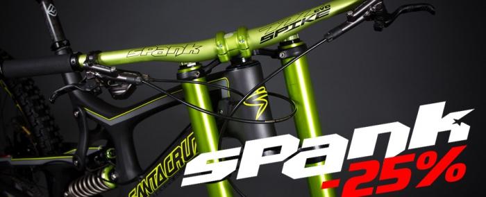 Скидки на велозапчасти Spank