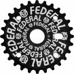 Звезда BMX Federal Solid Logo